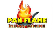 pan flame Restaurant Logo